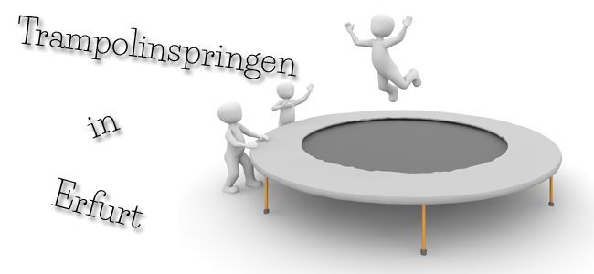Trampolinspringen in Erfurt